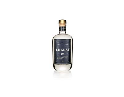 AUGUST Gin Branding & Packaging