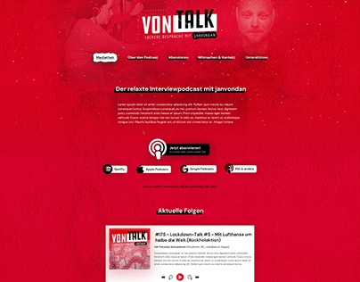 vonTALK Podcast Website