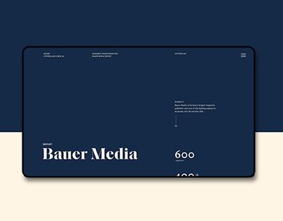 Bauer Media Report