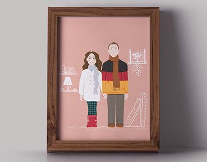 Portraits // Illustration