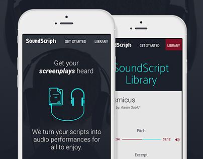 SoundScripts Website