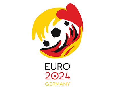 EURO 2024 Germany Logo Proposal