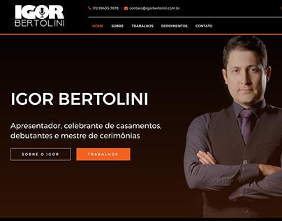 Igor Bertolini - Tema Wordpress