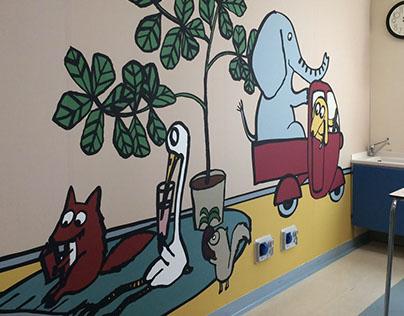 ospedale di Modena, wall sticker