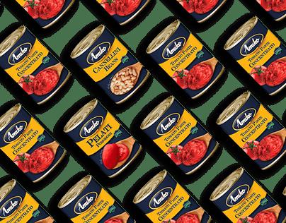 Amiko Foods - packaging design