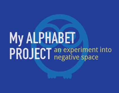 Alphabet Project | Study of Negative Space