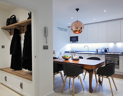 Contemporary apartment, North London