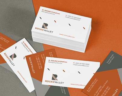 Rocks Valley // Branding