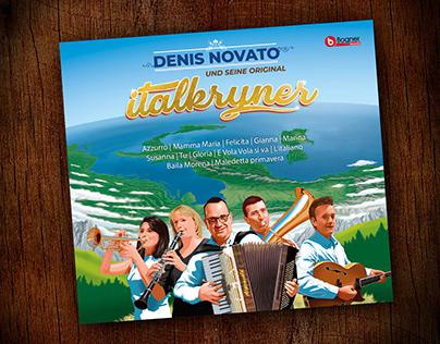 Denis Novato / Cd cover design and illustration