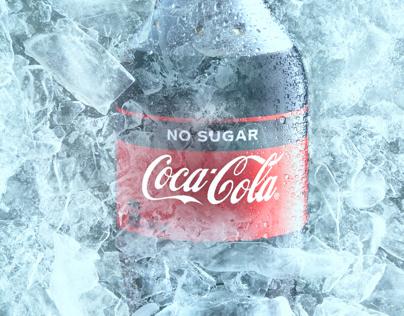 Coke on ice