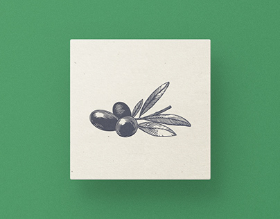 Series of food illustrations