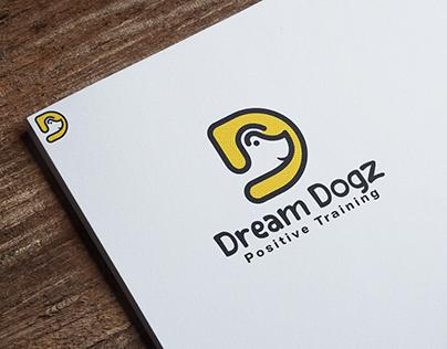 Dream Dogz   logo design
