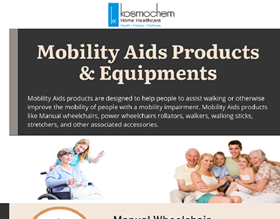 Kosmochem Mobility Aids Products & Equipments