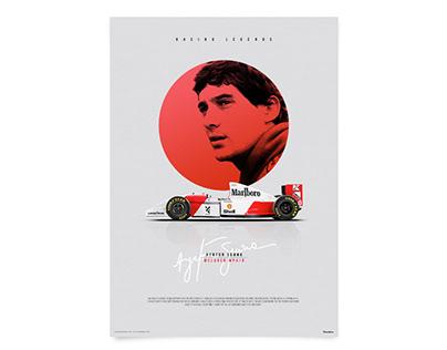 McLaren MP4/8 Formula 1, Ayrton Senna