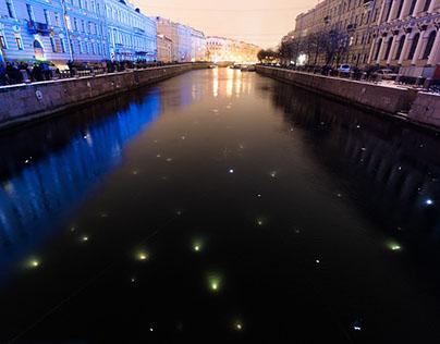 Star trek in cloudy St. Petersburg