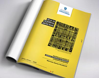 A different Magazine Ad | Politécnico Grancolombiano