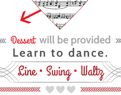 Church Valentines Dance Flyer