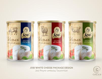Josi Cheese Package design Peynir ambalaj tasarımı