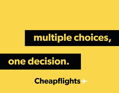 Cheapflights - Campaign