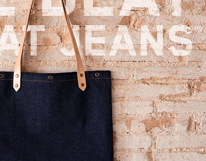 The Beat & Beat Jeans | Denim Bag