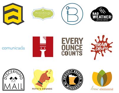 Logomarks, Logotypes, Icons