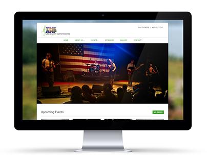 Lake Martin Amphitheater Web Redesign