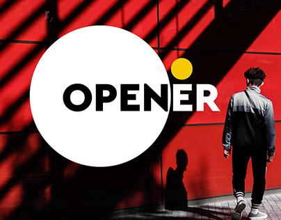 Opener/Cinematic slide show