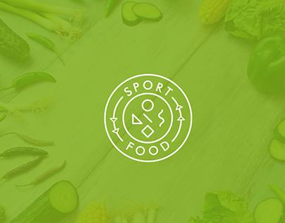 Логотип SPORT FOOD / Logotype SPORT FOOD