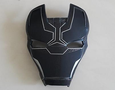 Black Panther . . Ironman Mark 42 Version