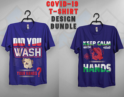 COVID-19 T-shirt Design Bundle