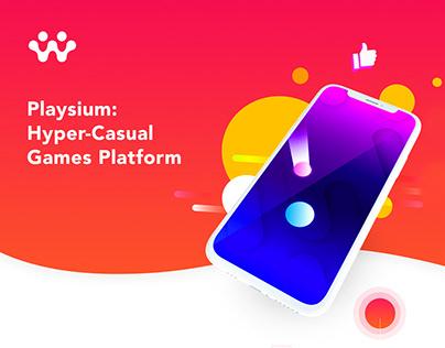 Playsium | Branding | UI/UX | Game Design