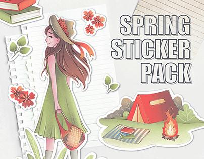 Spring Sticker Pack