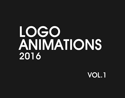 Logo Animations Vol.1