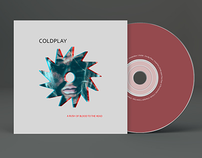 CD Coldplay - cover and logo