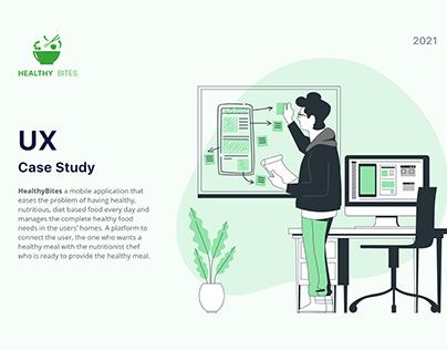UX Case Study Presentation - Healthy Bites