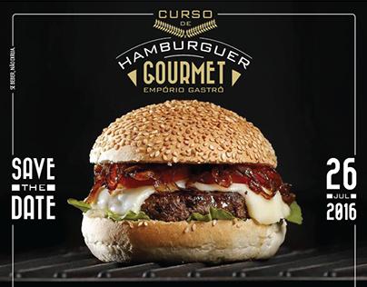Curso de Hamburger Gourmet Empório Gastrô