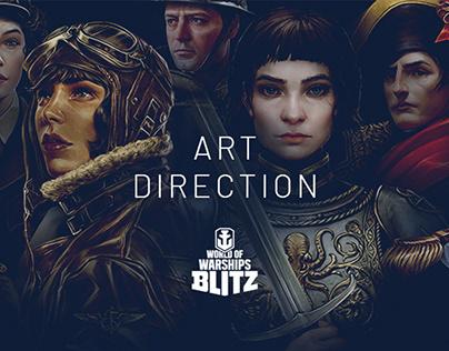 Art Direction: Portraits for World of Warships Blitz