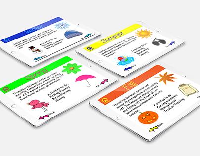 Seasons App for Kids
