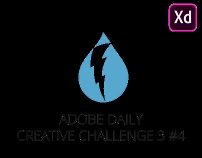 Daily Creative Challenge 3 #4 - Dark Sky App Redesign