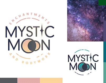 Mystic Moon Enchantments & Bodywork Logo Design