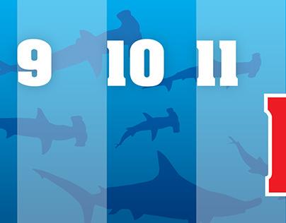 Shark measuring tape