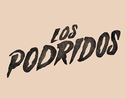 Los Podridos stickers set