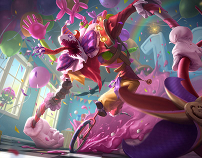 Surprise Party - Fiddlesticks - Splash art