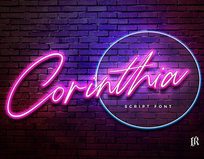 FREE FONT: Corinthia Script DEMO