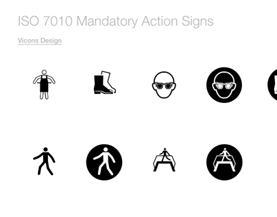 ISO 7010 Mandatory Action Signs