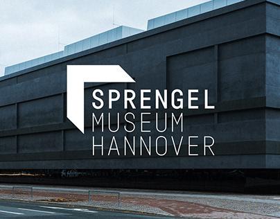 Sprengel Museum Hannover | Corporate Design Wettbewerb
