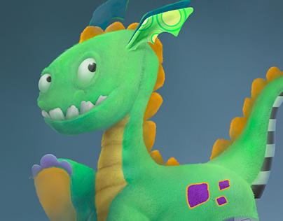 Dragón de Juguete