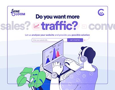 Shinebloom Website