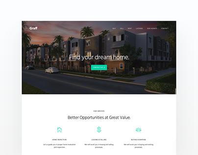 GRAFF | Real Estate Website