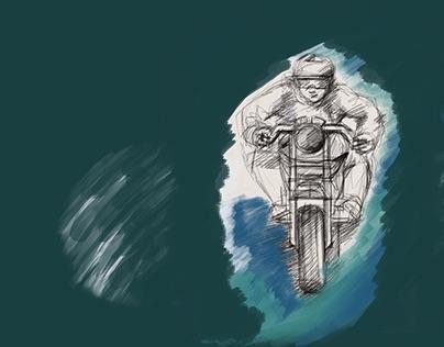 Visual   Biker   by TERRITOIRES BRANDING